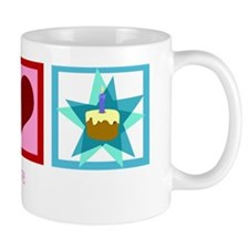 peacelovebirthdaywh Mug