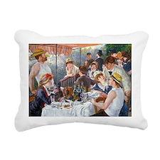 GC Renoir Boating Rectangular Canvas Pillow