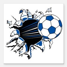 Funny Colombia Soccer Ball Car Magnets Personalized Funny - Custom soccer ball car magnets