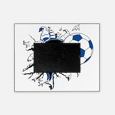 Soccer Ball Burst Picture Frame