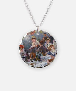 Pillow Renoir Boating Necklace