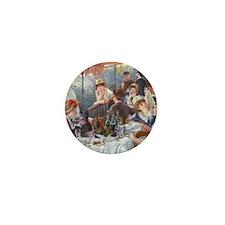 Pillow Renoir Boating Mini Button