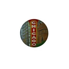 1chicagotheatre Mini Button