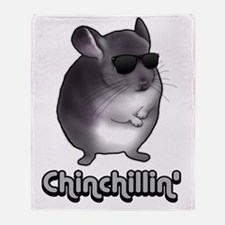 chinchillas Throw Blanket