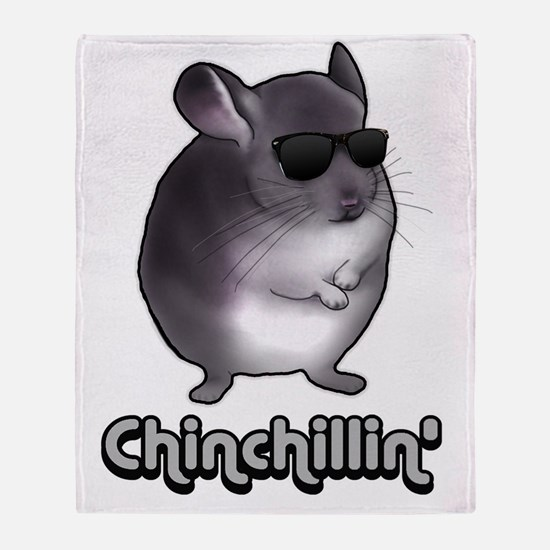chinchillas Throw Blanket