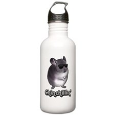 chinchillas Water Bottle