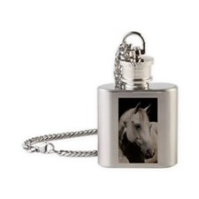 keychain-jinglefront Flask Necklace