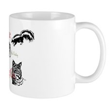 traps and animals sticker Mug