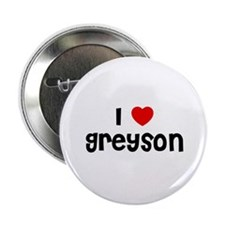 """I * Greyson 2.25"""" Button (10 pack)"""