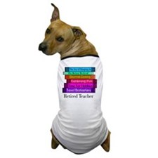retired teacher pendant Dog T-Shirt