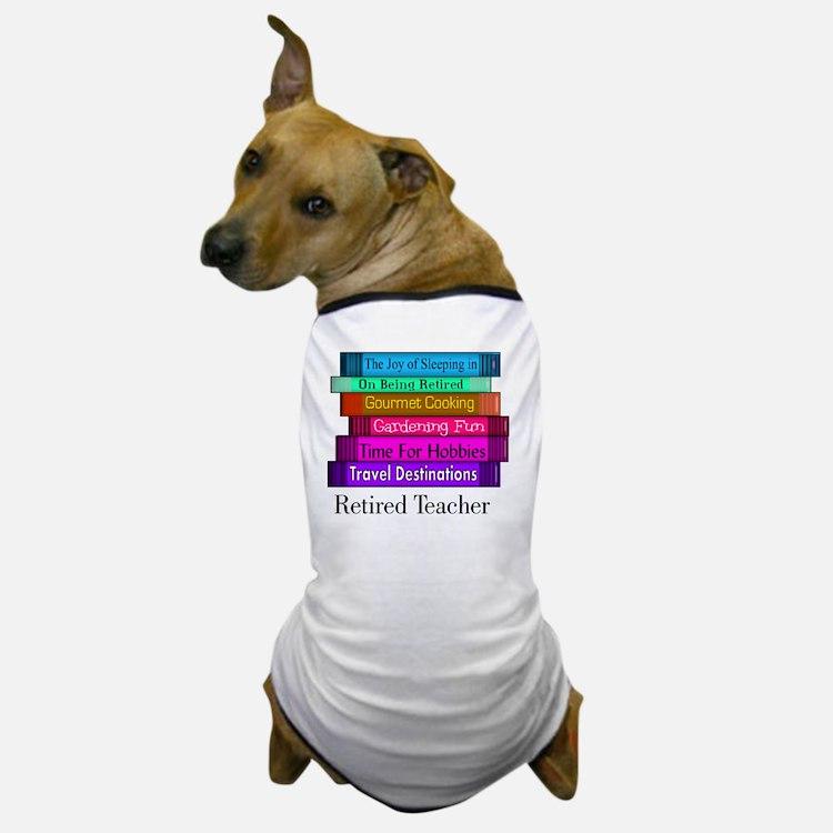 retired teacher pendant Dog T-Shirt