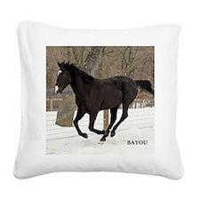 PUZZLE-BAYOU Square Canvas Pillow