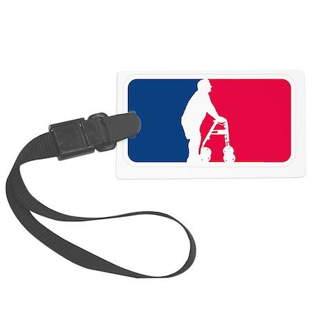 Major League Walkers Logo Large Luggage Tag