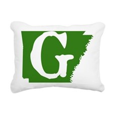 ARGreen Rectangular Canvas Pillow