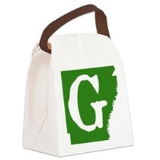 ARGreen Canvas Lunch Bag