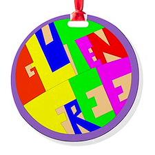 gluten free Ornament