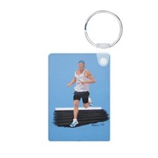 Surfer on the Turf shirt Keychains