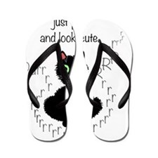 when_in_trouble_transparent_200 Flip Flops