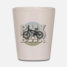 BMX GRAPHITE CIRCLE Shot Glass