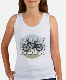 BMX GRAPHITE CIRCLE Women's Tank Top
