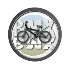 BMX GRAPHITE CIRCLE Wall Clock