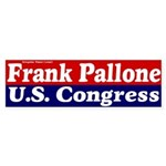 Frank Pallone for Congress Bumper Sticker