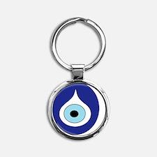 evil eye Round Keychain