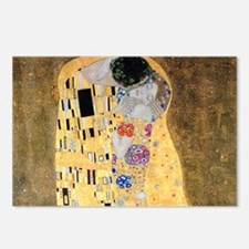 Coin Klimt Kiss Postcards (Package of 8)