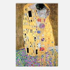 K/N Klimt Kiss Postcards (Package of 8)