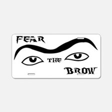 brow_black_hires Aluminum License Plate