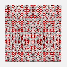 ChrochetLace Tile Coaster