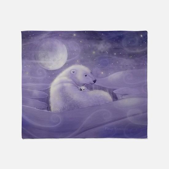 Gentle Winter cp Throw Blanket