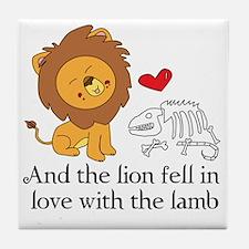 Lionbones Tile Coaster