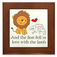 Lionbones Framed Tile