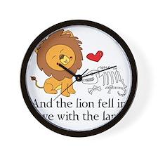 Lionbones Wall Clock