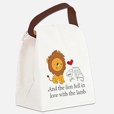 Lionbones Canvas Lunch Bag