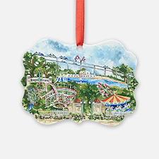 Peony Park Ornament