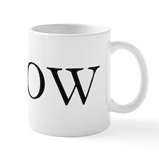 ibrow_text Mug