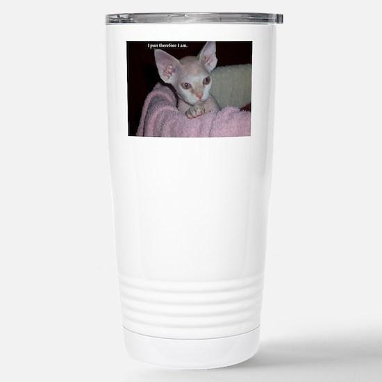 Cutie-Laptop Stainless Steel Travel Mug