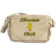 Librarian Chick Messenger Bag