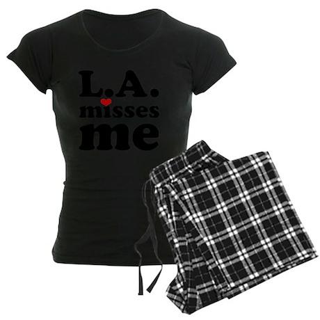 LAMM-bck-red Women's Dark Pajamas