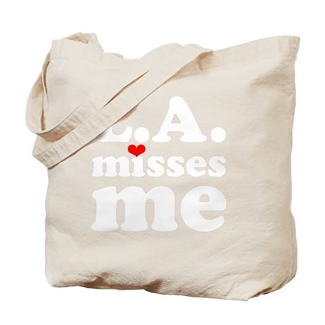 LAMM-wht-red Tote Bag