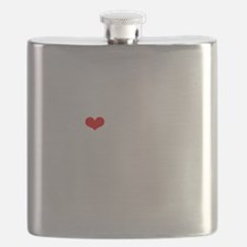 LAMM-wht-red Flask