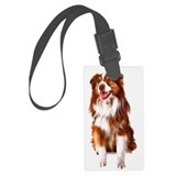 Australian shepherd Luggage Tags