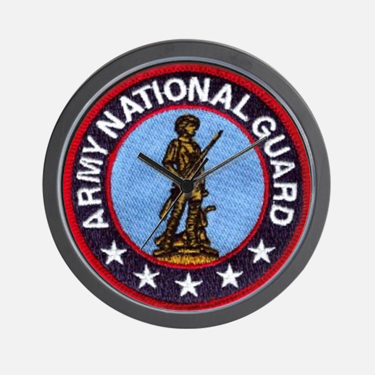 national guard Wall Clock