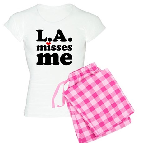 LAMM-bck-red-sm Women's Light Pajamas