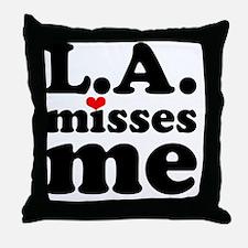 LAMM-bck-red-sm Throw Pillow