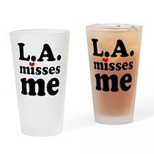 LAMM-bck-red-sm Drinking Glass