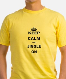KEEP CALM AND JIGGLE ON T-Shirt