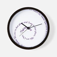 namaste_bc Wall Clock